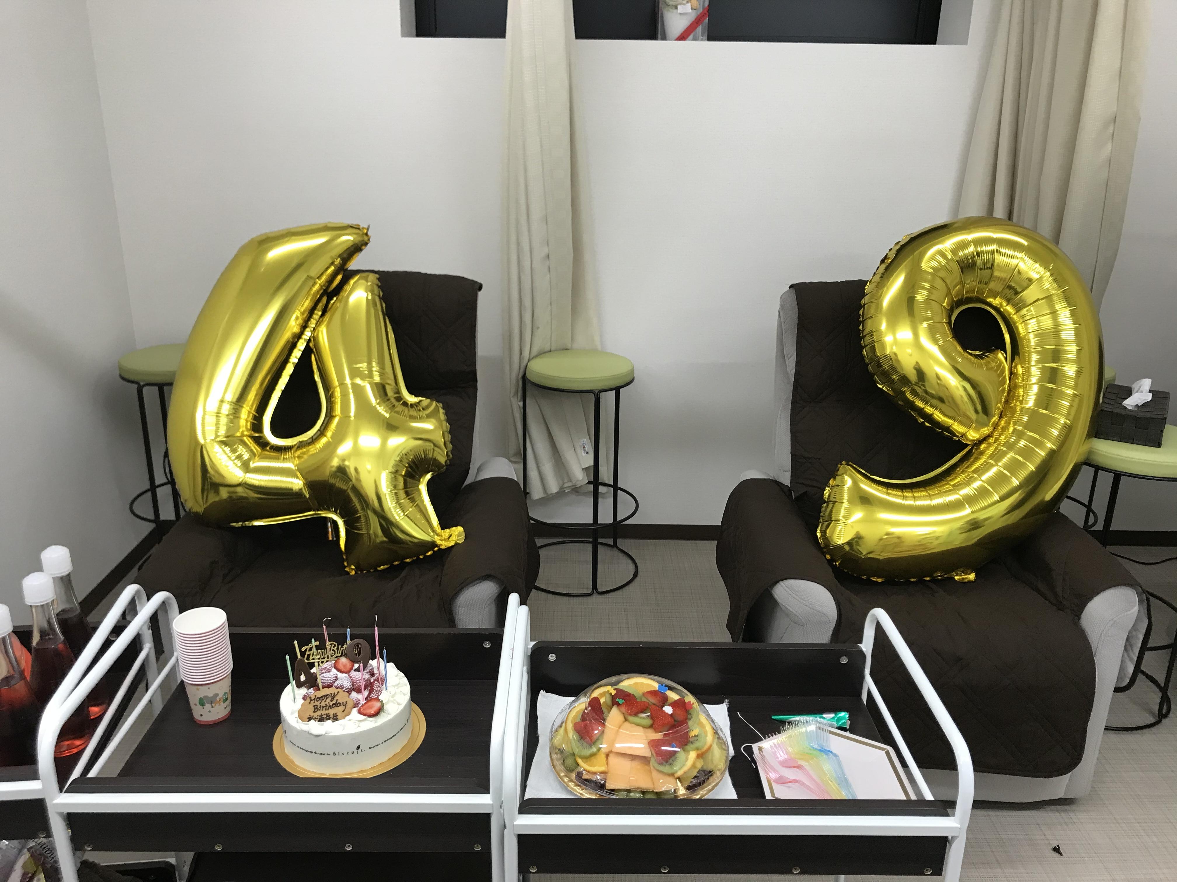 49歳の誕生日